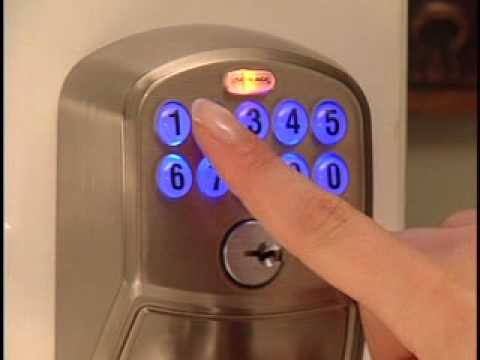 Programming Your Fe595 Keypad Entry Lock Youtube