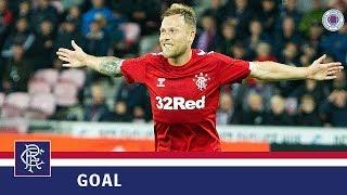 GOAL | Scott Arfield | FC Midtjylland 2-4 Rangers