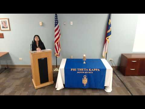 2020 PTK Induction Ceremony at Craven Community College