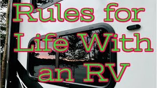 10 Rules for Life WITH an RV