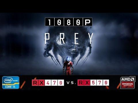 RX 470 Vs RX 570 | Prey | 1080p | Very High