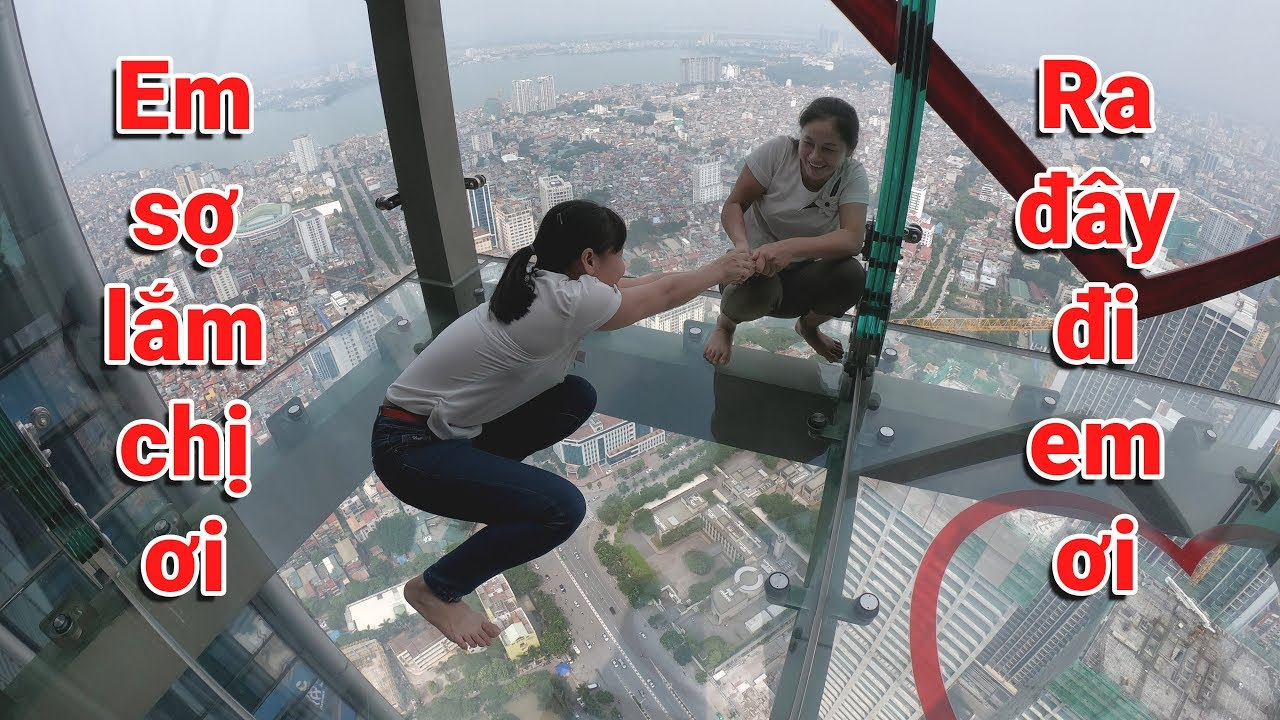 Dẫn Em Gái Đi Sàn Kính Tòa Nhà 65 Tầng 272m Ngắm Toàn Cảnh Hà Nội ( Lotte Center Hanoi ) – Ninh TV