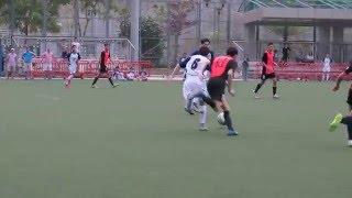 港會vs夢想駿其(2016.4.4.青少年足球U16甲組聯賽)之入球1:0~港會16號