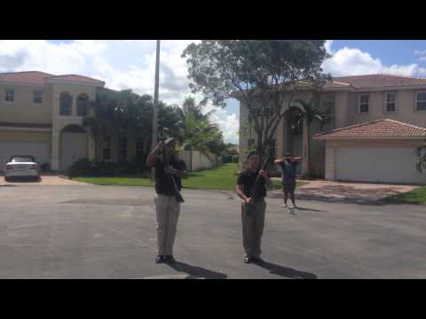 DWU Online Drill Competition tandem exhibition phase Joseph Suvero and Jak Davenport angle #1