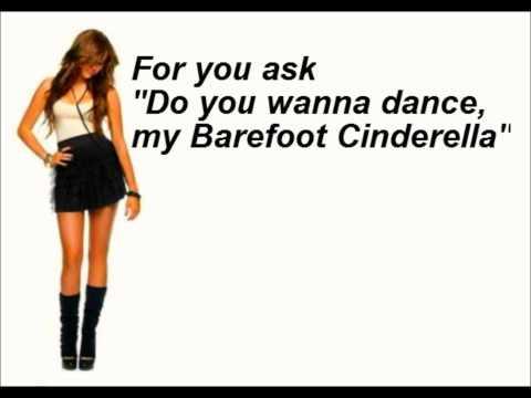 Miley Cyrus Barefoot Cinderella Lyrics