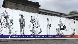 Yvelines | Découverte du street-art en trottinette dans les rues de Versailles