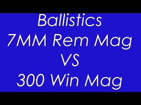 7MM Rem Mag. VS 300 Win Mag - Ballistics Compared