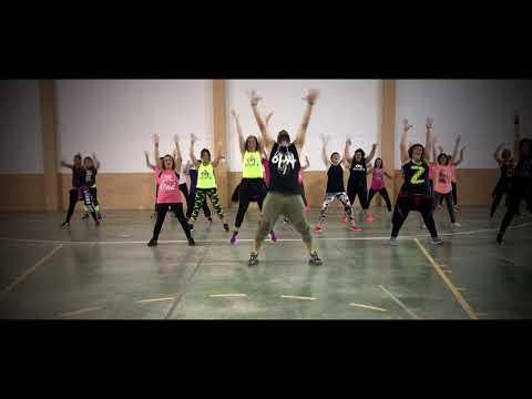 David Guetta Ft. Nicki Minaj - Hey Mama ( Moombah) ZUMBA SANZONETTI