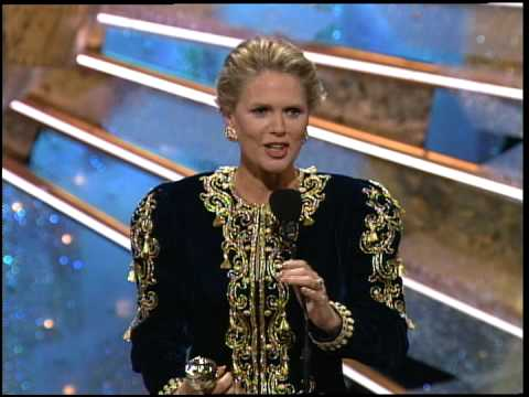 Golden Globes 1991 Sharon Gless and Patricia Wettig both win the Award for Best Actress