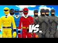 Power Rangers Vs Robocop Army - Epic Battle video