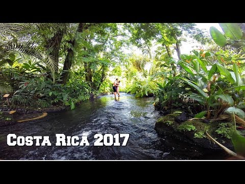 COSTA RICA 2017 | CANYONING, ENGAGEMENT, ZIP LINING | TRAVEL VLOG