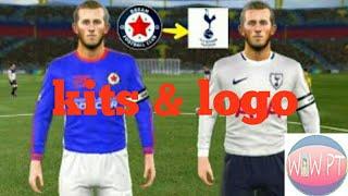 How to create Tottenham Hotspur Team - Kits & Logo - Dream League Soccer 2018