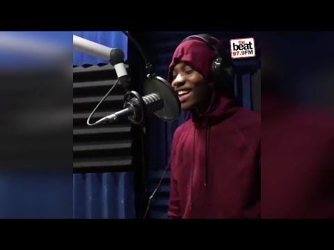 AKtheKING Freestyles on The Beat 979 over old school instrumental