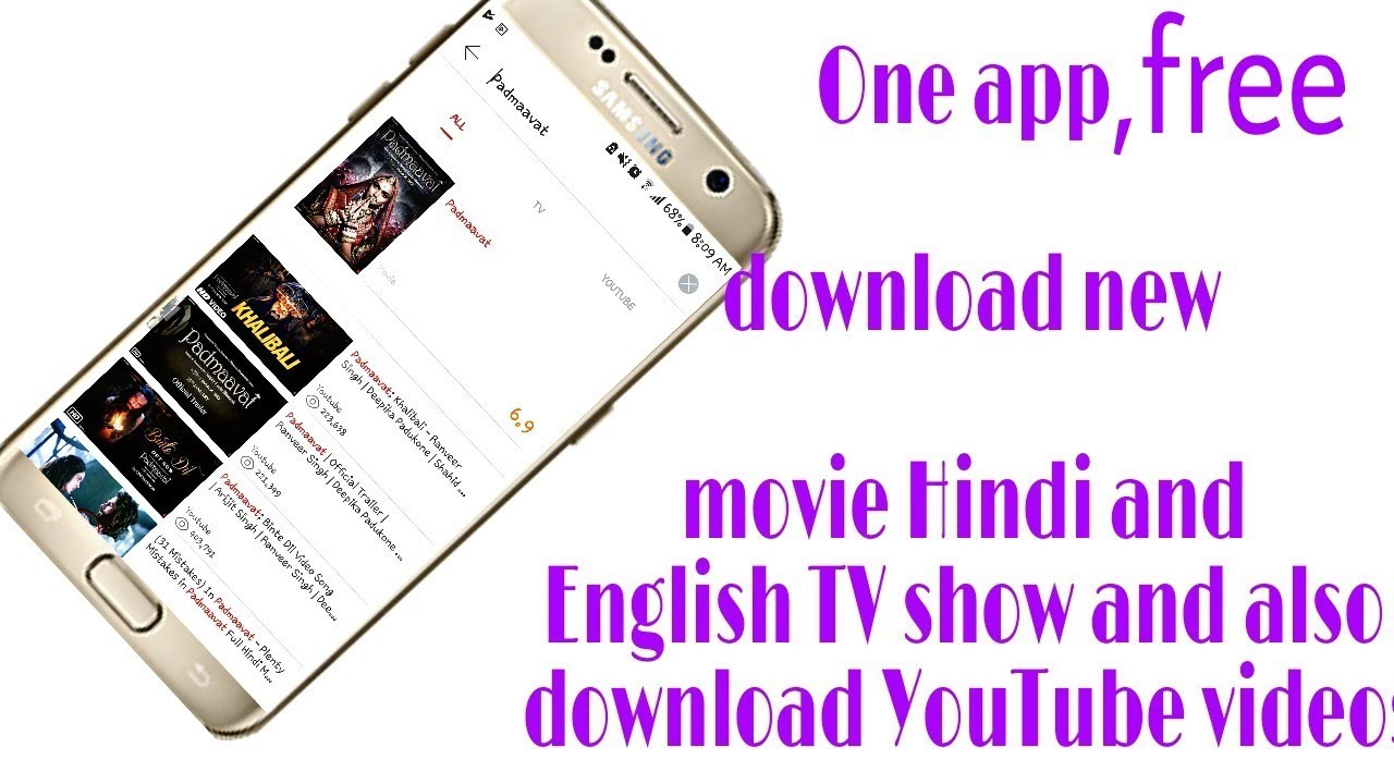 one app free download new movie hindi english and youtube videos