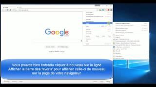 Deux méthodes pour enlever la barre des favoris dans Google Chrome