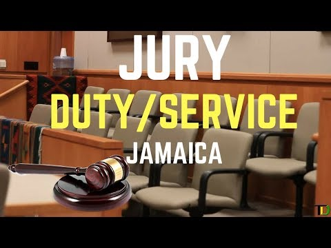 JURY DUTY in JAMAICA all you NEED to KNOW  Teach Dem