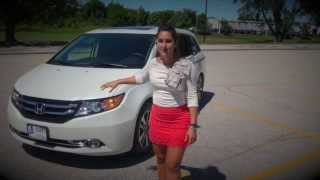 2014 Honda ODYSSEY REVIEW AND TEST DRIVE | Herb Chambers Honda ©
