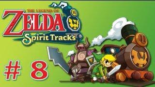 """Guia Zelda - Spirit Tracks - # 8 """"Templo del Mar y Látigo"""""""