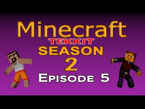 Minecraft Tekkit Season 2 - Episode 5 - Afew More Machines