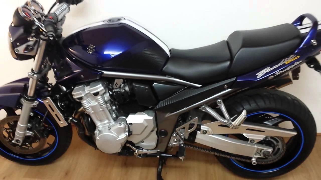 Suzuki GSF 1250 bandit Streetfighter Ltd Ed 2009 - YouTube