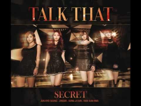 [MP3/DL] SECRET - TALK THAT