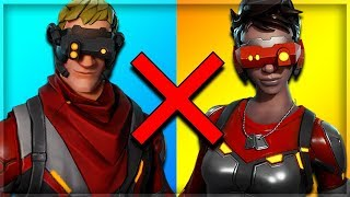 10 WORST COUPLE SKINS EN FORTNITE! (Fortnite Battle Royale)