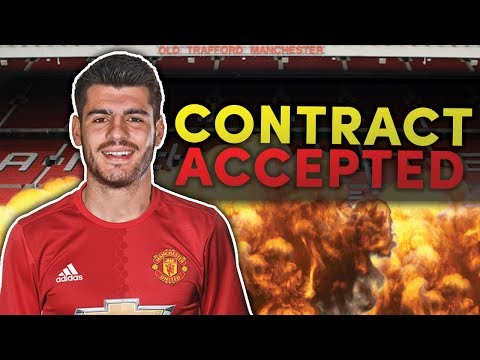 REVEALED: Manchester United To Confirm £80M Alvaro Morata Transfer This Week?! | Transfer Talk