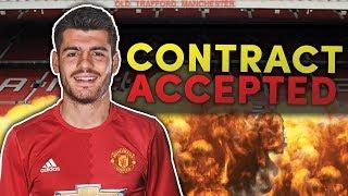 REVEALED: Manchester United To Confirm £80M Alvaro Morata Transfer This Week?! | Transfer Talk