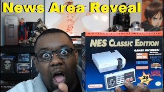 Finally, I have an NES Classic Edition! Stonefox New Gaming News Area Reveal!