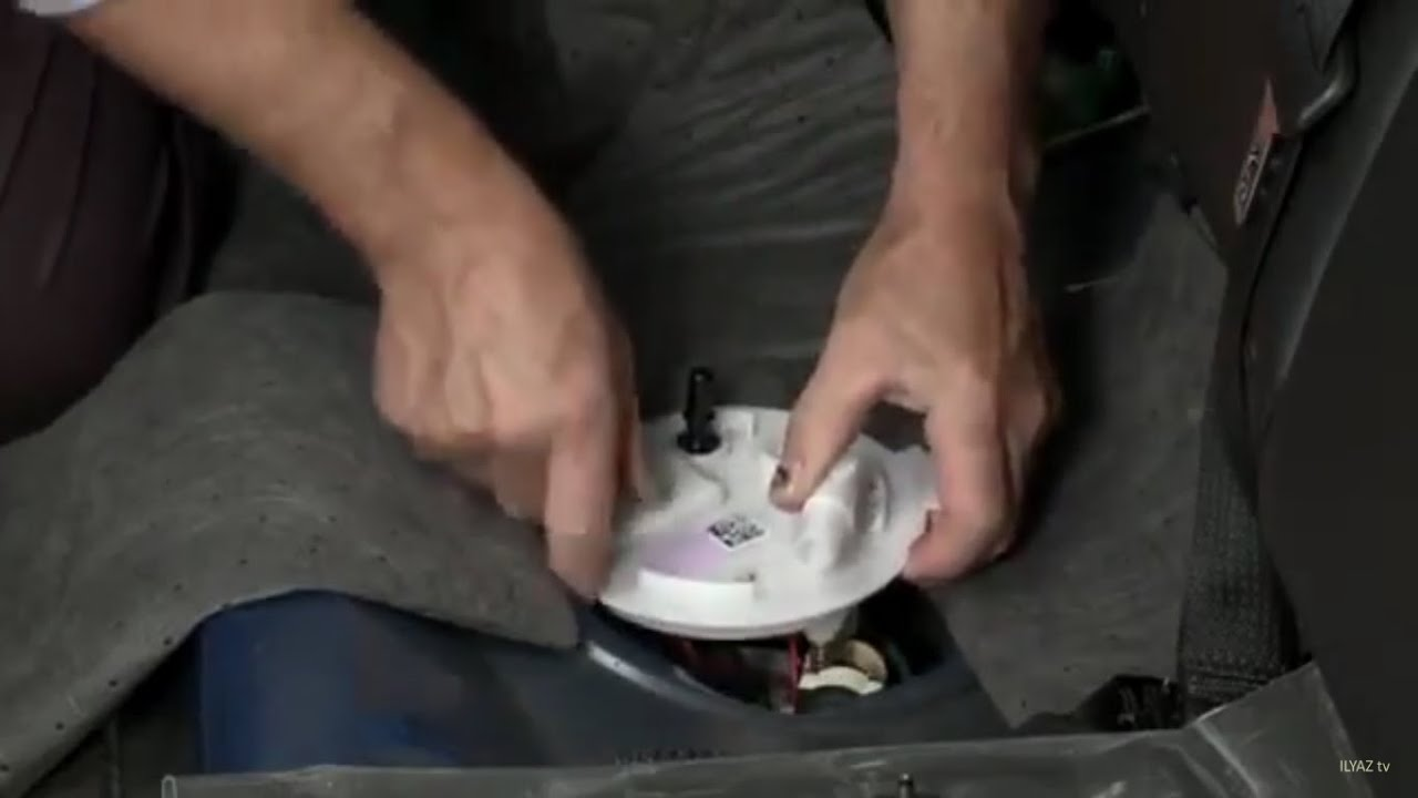 how to replace a fuel pump ford explorer taurus flex fusion lincoln mks mkt mkz [ 1280 x 720 Pixel ]