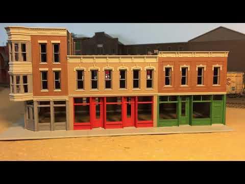 Walthers Cornerstone Merchants Row II