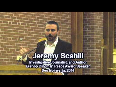 Jeremy Scahill's life journey