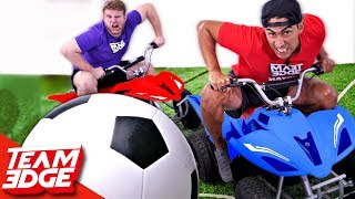 Rocket League In Real Life Challenge!! thumbnail