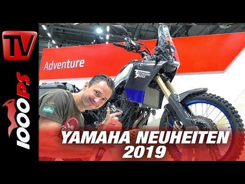 Yamaha Neuheiten 2019 auf der INTERMOT
