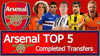 Arsenal - Top 5 Completed Transfers in Summer 2018 | HD