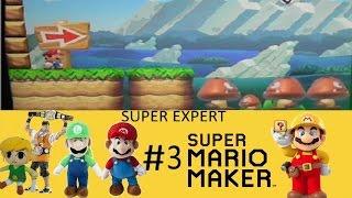 The Bear Show Gaming: Super Mario Maker - 100 Mario Challenge Super Expert Part #3