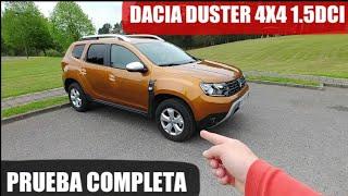 NUEVO Dacia DUSTER Comfort 4x4 1.5dci. Prueba, test, review en Español.