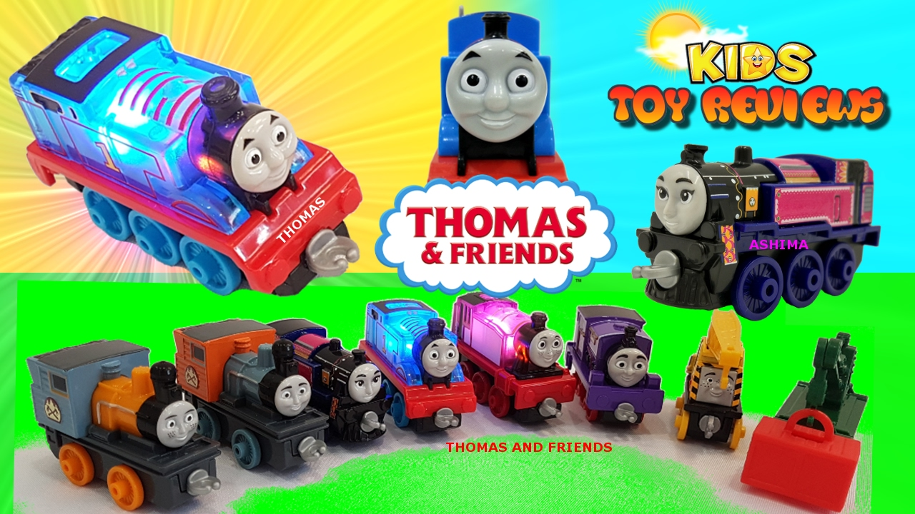 Toy Names A Z : Thomas and friends toys collection unboxing learn the