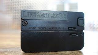 LifeCard 22lr Pistol - World's Smallest Pistol?