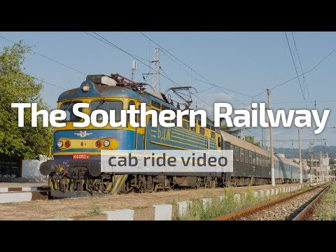 Cab Ride Bulgaria 🛤️ The Southern Railway (Kresna - Blagoevr