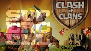 Top 5 Things You Didn`t Know About ! Clash Of Clans 2k12 and 2k17 ! coc by fc.class !