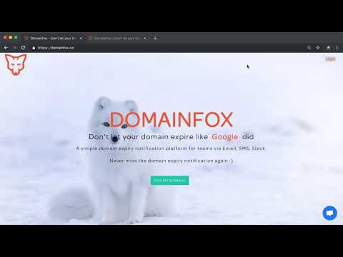 DomainFox | Don't let your domain expire
