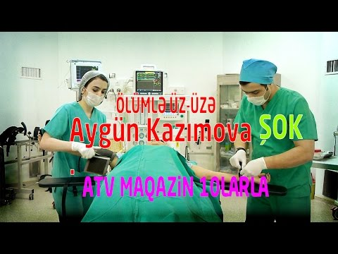 Aygün Kazımova ölümlə üz-üzə - Allahda bezib... Bu son... Ölürəm! ATV Maqazin 10larla