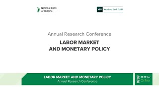 Annual research conference: Labor market and monetary policy