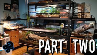 Reptile Room Tour May 2016 (Part 2)   Over a DOZEN New Animals!(After countless delays, it's FINALLY here! This is the second half of my May reptile room tour, featuring 2 aquariums, 9 invertebrates, and one extra new addition I ..., 2016-05-27T19:30:01.000Z)