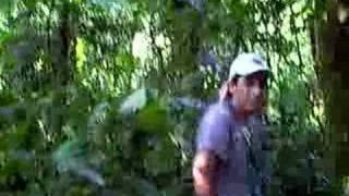 Маша Лепская в джунглях Эквадора.