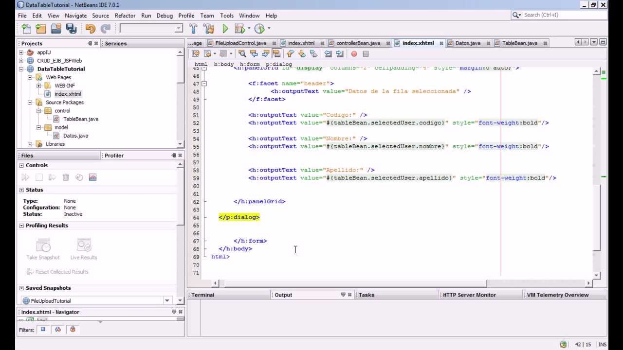 how to use filter java