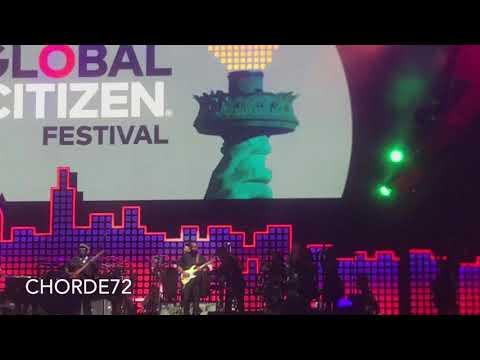 Stevie Wonder at Global Citizen Festival