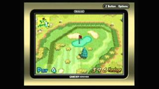 CGRundertow - MARIO GOLF: ADVANCE TOUR for Game Boy Advance Video Game Review