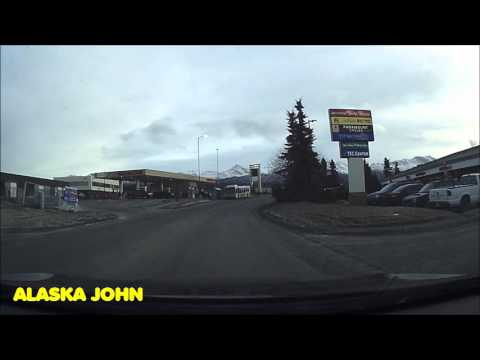 DASHCAM DRIVE - Anchorage Alaska - November 30th 2015